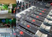 Renta de audio, dj e iluminación