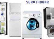 Tecnicos en linea blanca (refrigeradores, lavadoras automaticas,secadoras de gas y electri