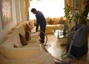 Lavado de salas y limpieza de pisos