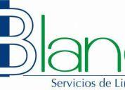 Blanc de mexico, servicios de limpieza