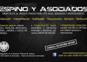 ✔ perito traductor oficial - inglés/español/inglés - acapulco, guerrero