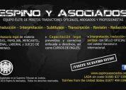 ✔ agencia de traducción, perito traductor oficial – inglés/español/inglés