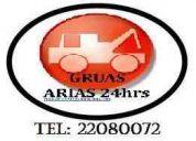 Servicio de gruas arias   tel (0155) 22080072