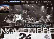 Trooper tour te lleva al concierto de pearl jam en el foro sol de la cd. de méxico