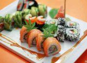 Sushi en vivo en tu evento