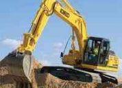 Renta de excavadora john deere 790 equivale  excavadora 320 cat