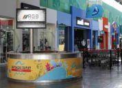 Rgb publicida en centros comerciales, renta de pantallas led y producción de spots y video