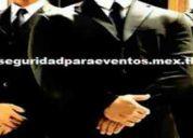 Seguridad para eventos;  www.seguridadparaeventos.mex.tl