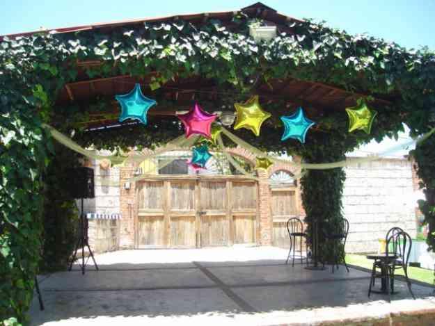 Renta de jardin de fiestas tlalnepantla de baz balcones for Renta de albercas portatiles para fiestas df