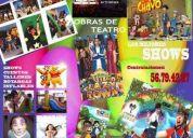 Todo para  tus fiestas infantiles shows y servicios 41714710
