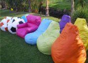 Puffs y salas lounge en cuernavaca venta y renta