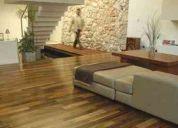 Pisos de madera encino, bamboo, tzalam