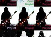 Crow proyect busca músicos