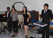 Grupo musical, duetos musicales y tecladista versátil para fiestas