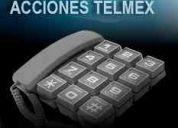 Venta y compra de acciones telmex mexico