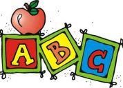 Clases d ingles para niños desde 3 años y adultos