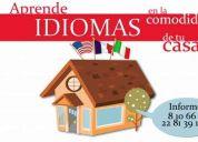 Inglés, francés italiano xalapa