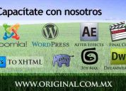 Cursos y capacitación desarrollo web, wordpress, joomla, final cut, after effects, y mas