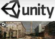 Unity. recorridos virtuales. videojuegos. curso
