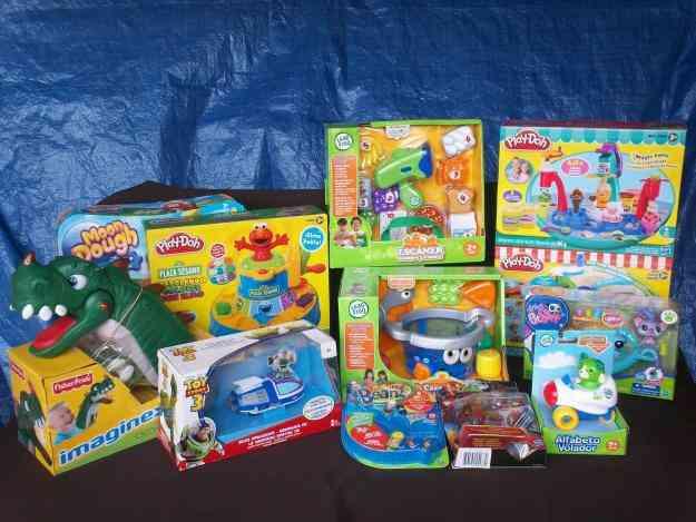 Juguetes leapfrog play doh hasbro toystory etc nuevos - Juguetes nuevos para ninos ...