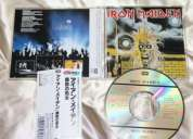 Iron maiden, judas priest, saxon, ac dc, slayer, king diamond, mercyful fate, pink floyd
