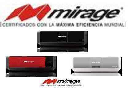 Minisplit Mirage Prime Y Serenity Inverter Monterrey
