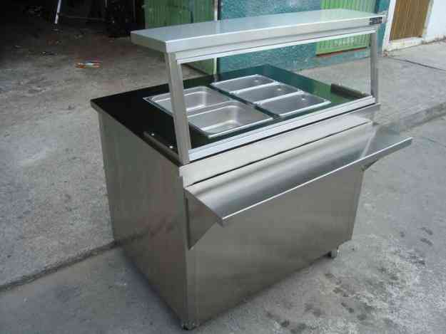 Deminox muebles y puestos de acero inoxidable zapopan for Muebles para bano acero inoxidable