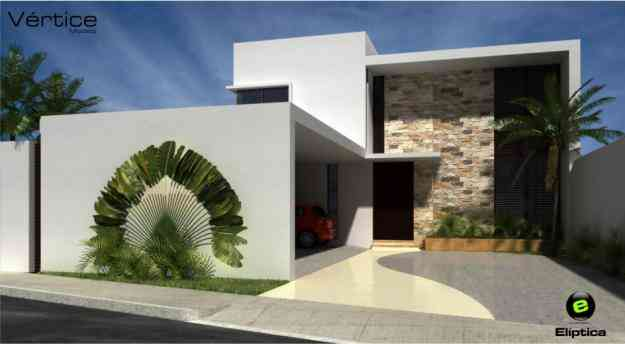 Residencia minimalista m2 equipada 1 150 000 for Casa moderna minimalista 6 00 m x 12 50 m 220 m2