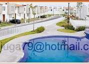 Exclusivas casas con alberca en zona residencial