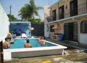 Oaxtepec bungalow, habitacion con estancia y cuartos, alberca 3 asadores etc.