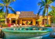 Villa frente a la playa en exclusivo desarrollo punta mita.