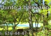 Vendo terreno rÚstico junto a balneario de santa isabel cholula