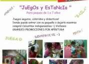 Estancia y juegos (por hora) para niños de 1 a 7 años! happyjungle en gran plaza