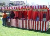 Fiestas infantiles y adultos tipo kermes