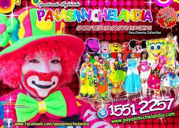 Show de Payasos en Coyoacan