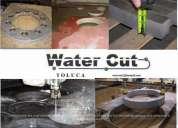 Hidrocorte o corte con chorro de agua