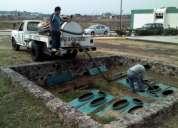 Diego servicios  limpieza de fosas septicas