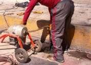 Desazolve y destapado de caños y drenajes