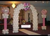 Decoracion con globos light
