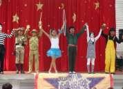 Funciones de circo a tu fiesta, carpa, foro y espectaculo muy original de circo.