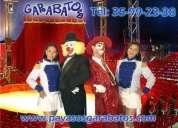 Circo artistico garabato's® artistas circenses