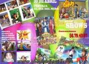Shows y servicios para eventos infantiles  masivos y particulares 41714710