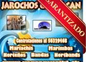 Jarochos norteños bandas mariachis marimbas - al 56329468 todo el d.f