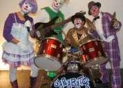 Banda musical de payasos espectaculos  payasos musicales