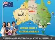Estudia, viaja y trabaja en australia con australia experience cursos desde $150aud