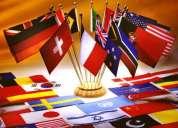 Ingles cualquier nivel y edad, espaÑol para extranjeros y mas.