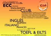 Clases conversacionales - concepto club® - italiano, inglÉs y francÉs