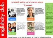 Concepto club® tÚ escoges tu horario- inglÉs, francÉs, italiano, alemÁn y espaÑol