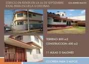 Edificio en renta en la 16 de septiembre excelente ubicacion