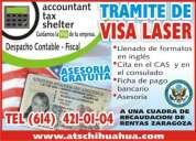 Visa laser, pasaporte americano, canadiense, pasaporte mexicano